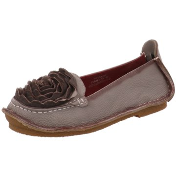 Estelle Mokassin Slipper grau