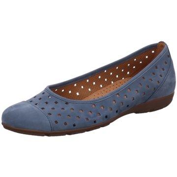 Gabor Komfort SlipperBallerina blau