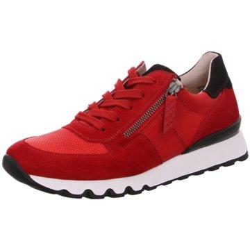 Klassiche Adidas Sneaker in rot weiß. Ein Must Have für