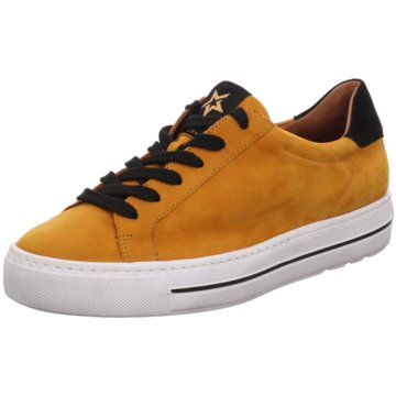Paul Green Plateau Sneaker4835 gelb