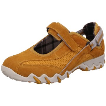 Allrounder Bequeme SlipperSneaker gelb