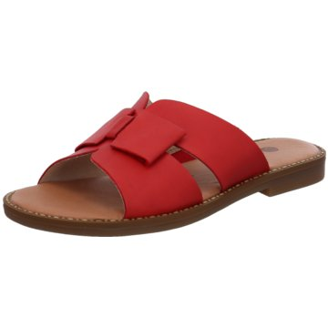 Remonte Klassische Pantolette rot