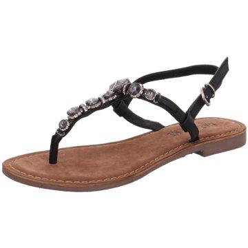 Lazamani Top Trends Sandaletten schwarz