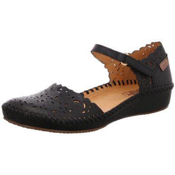 Pikolinos Komfort Sandale schwarz