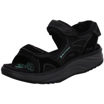 Joya Komfort Sandale schwarz