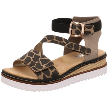 Rieker Top Trends Sandaletten animal