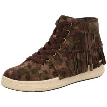 Geox Sneaker High oliv