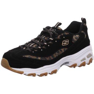 Skechers Sneaker LowQuick Leopard schwarz