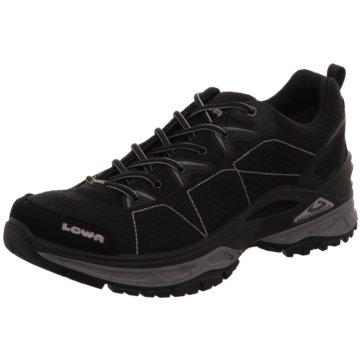 LOWA Outdoor SchuhPANTS SEOUL ZIP OFF - 2022873 11035 schwarz