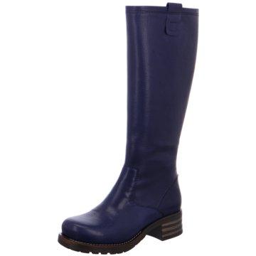 Brako Plateau Stiefel blau
