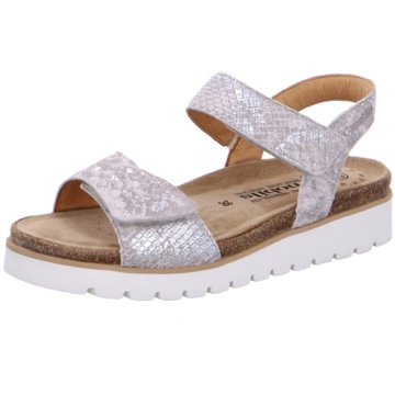 Mobils Komfort Sandale silber