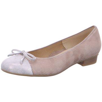 ara Klassischer Ballerina beige