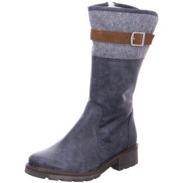 Jenny Komfort Stiefel blau