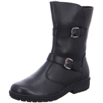 Ganter Komfort Stiefel schwarz