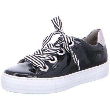 Jenny Plateau Sneaker schwarz