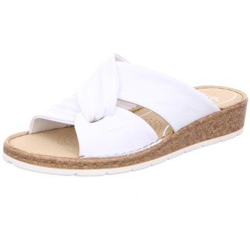 ara Klassische Pantolette weiß