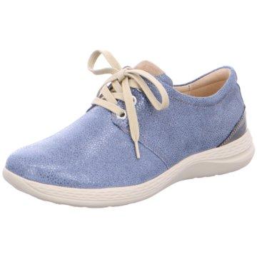 Fidelio Komfort Schnürschuh blau