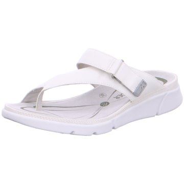 Allrounder Komfort Pantolette weiß