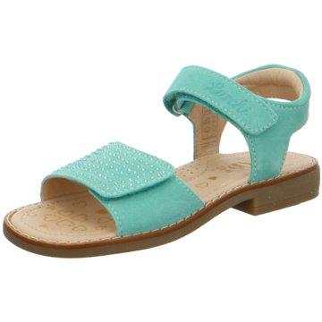 Lurchi Offene Schuhe türkis