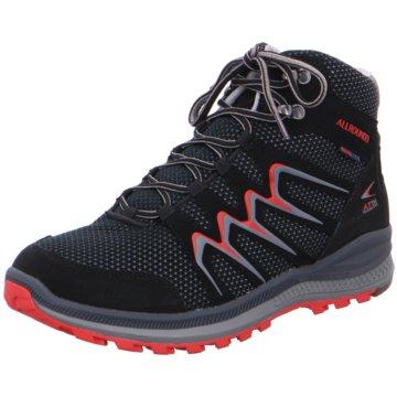 Allrounder Outdoor Schuh schwarz