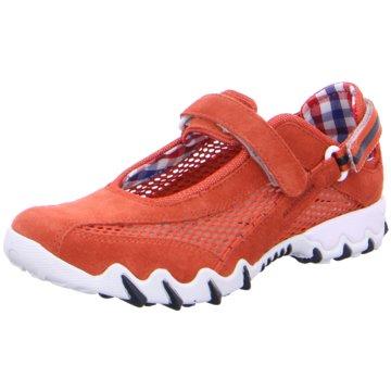 Allrounder Komfort SlipperSneaker rot