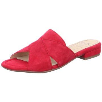ara Klassische Pantolette rot