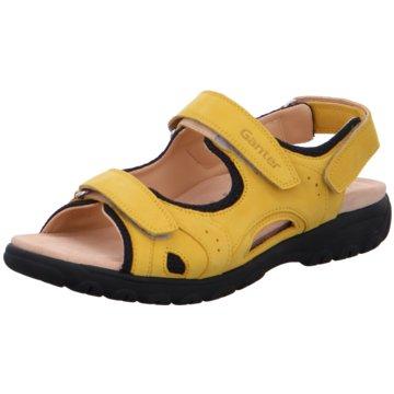 Ganter Komfort Sandale gelb