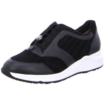 Hassia Plateau Sneaker schwarz