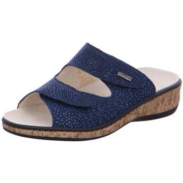 Fidelio Komfort Pantolette blau