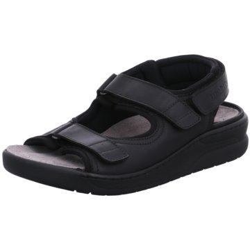 Mephisto Komfort Schuh schwarz