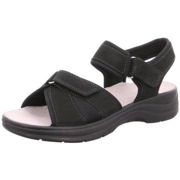 ara Komfort Sandale schwarz