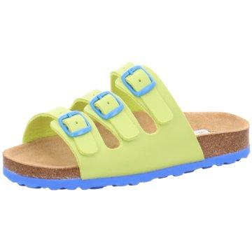 Lico Offene Schuhe gelb