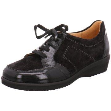 Ganter Komfort SchnürschuhInge schwarz