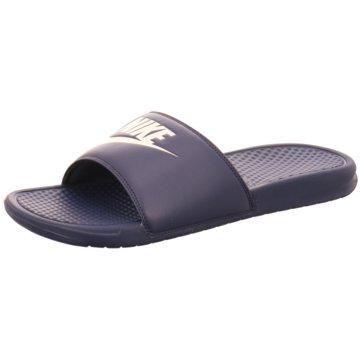 Nike BadelatscheNike Benassi JDI Men's Slide - 343880-403 blau