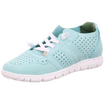 Slowwalk Sneaker Low blau