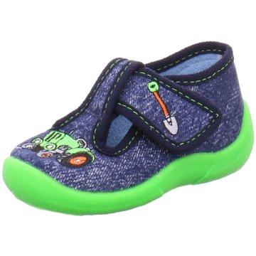 Fischer Schuhe HausschuhTraktor blau