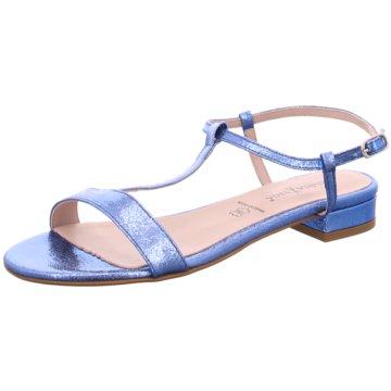 alfa Sandale blau