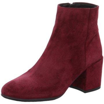 Alpe Woman Shoes Klassische Stiefelette rot