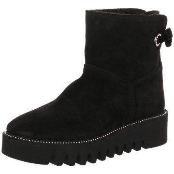 Alpe Woman Shoes Plateau Stiefelette schwarz