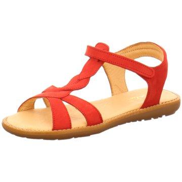 Sabalin Offene Schuhe rot