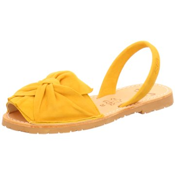 Ria Menorca Top Trends Sandaletten gelb