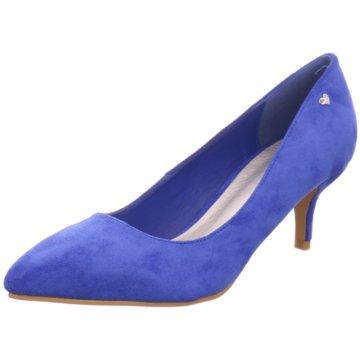 Hengst Footwear Flacher Pumps blau