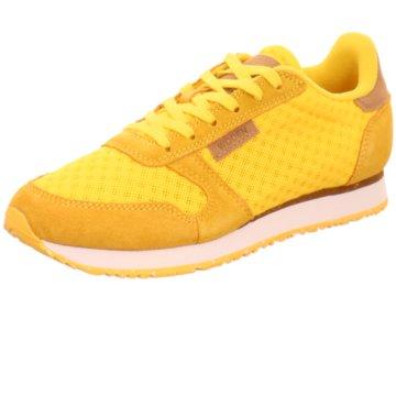 Woden Sneaker Low gelb