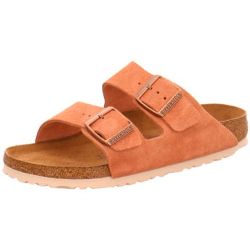 Birkenstock Klassische PantoletteArizona SFB orange
