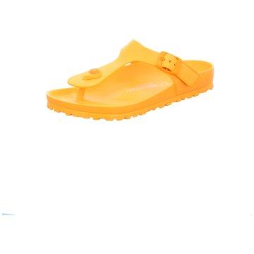 Birkenstock Bade-Zehentrenner gelb