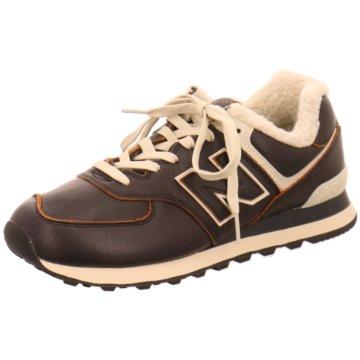 New Balance Sneaker Low574 D Winter schwarz