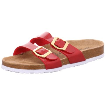 Indigo Klassische Pantolette rot