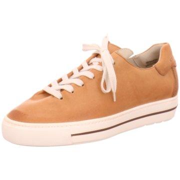 Paul Green Plateau Sneaker braun
