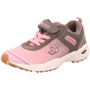 Lico Sportlicher Schnürschuh rosa
