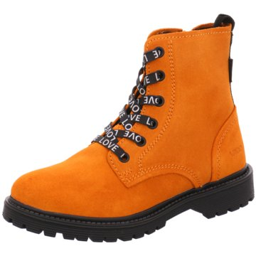 Vado Schnürstiefel orange
